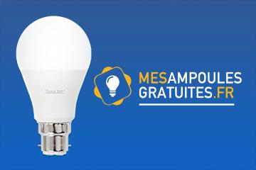 recevez des chantillons gratuits d 39 ampoules led thomaswatt. Black Bedroom Furniture Sets. Home Design Ideas